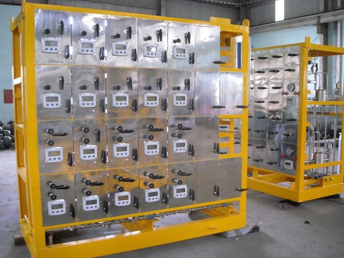 Chemical Injection Rack